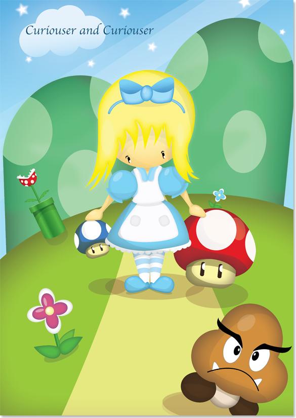 Alice in the Mushroom Kingdom image