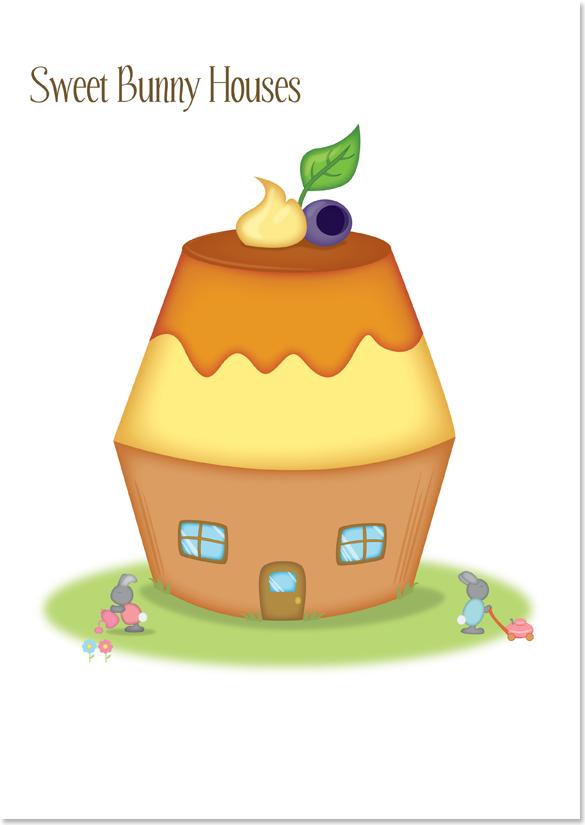 Sweet Bunny Houses image