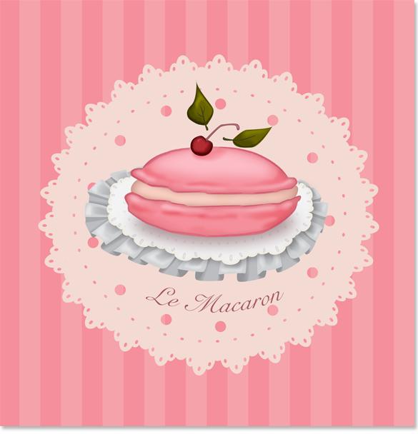 Pink Macaron image