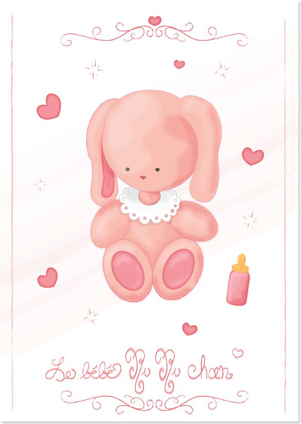 Ruru chan—a cute baby bunny image